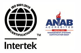 ISO 9001 Intertek, ANAB Accredited